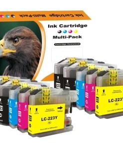LC223 Multipack voor Brother van 10 inktpatronen