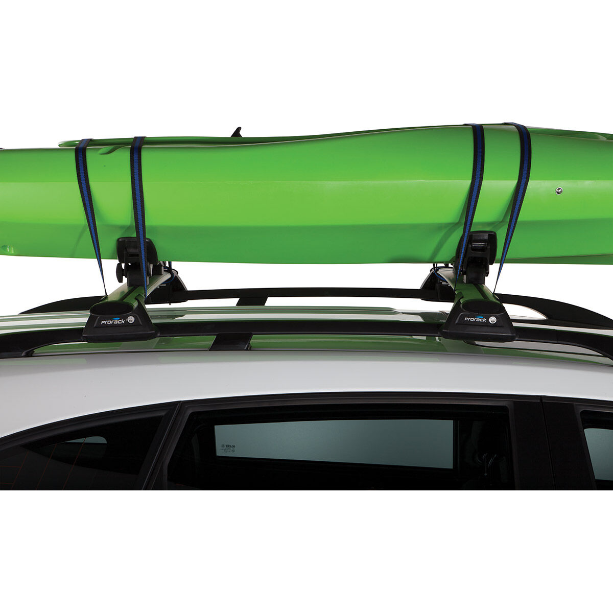 prorack roof rack kayak holder kit