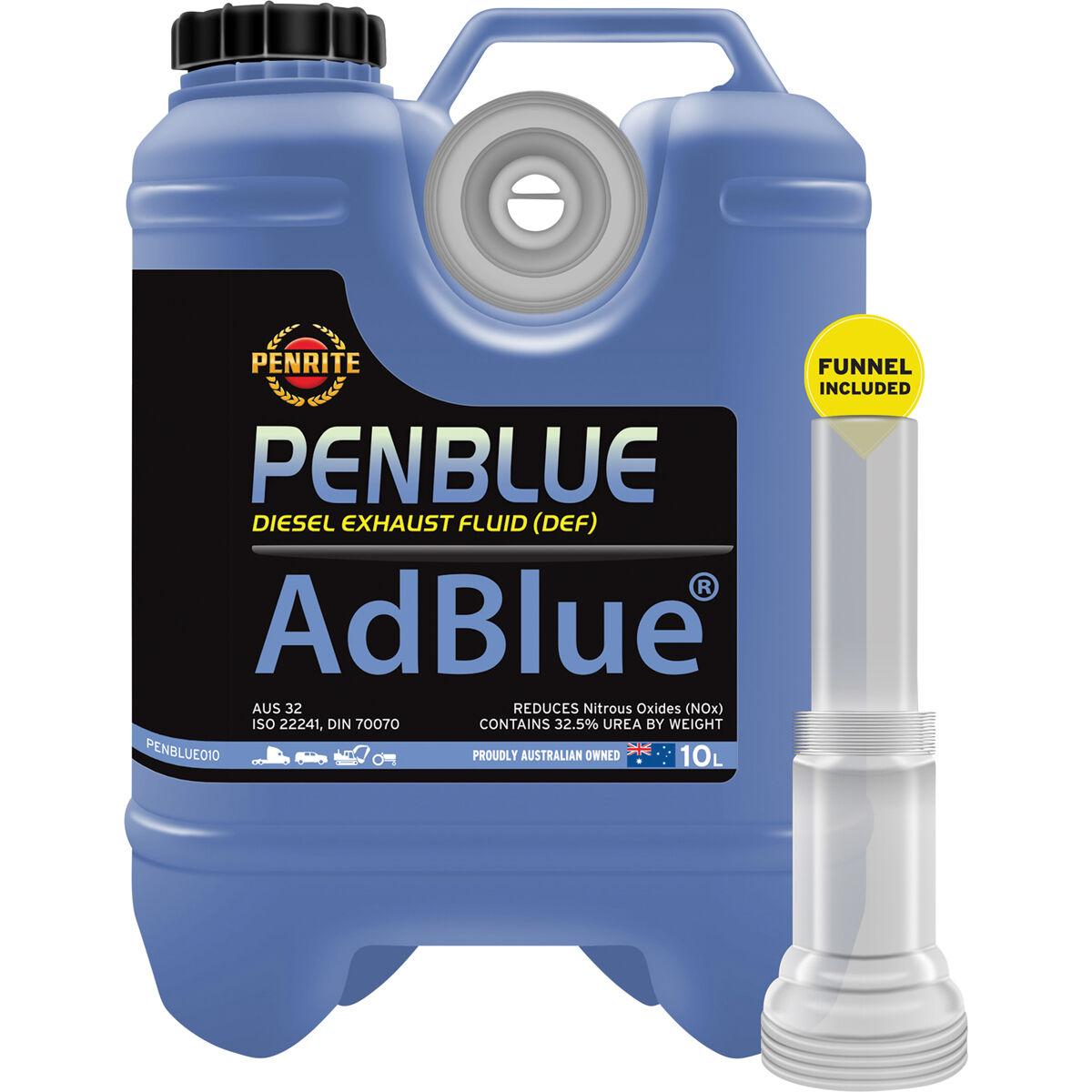 penrite adblue def diesel exhaust fluid 10 litre