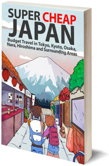 Super Cheap Japan book