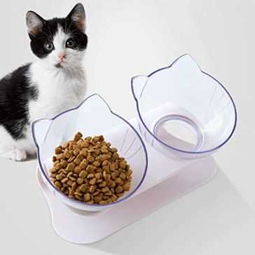 SKJIND Gamelle Double mangeoire pour Chat 4