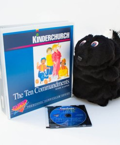 The Ten Commandments - Kinder Church Curriculum