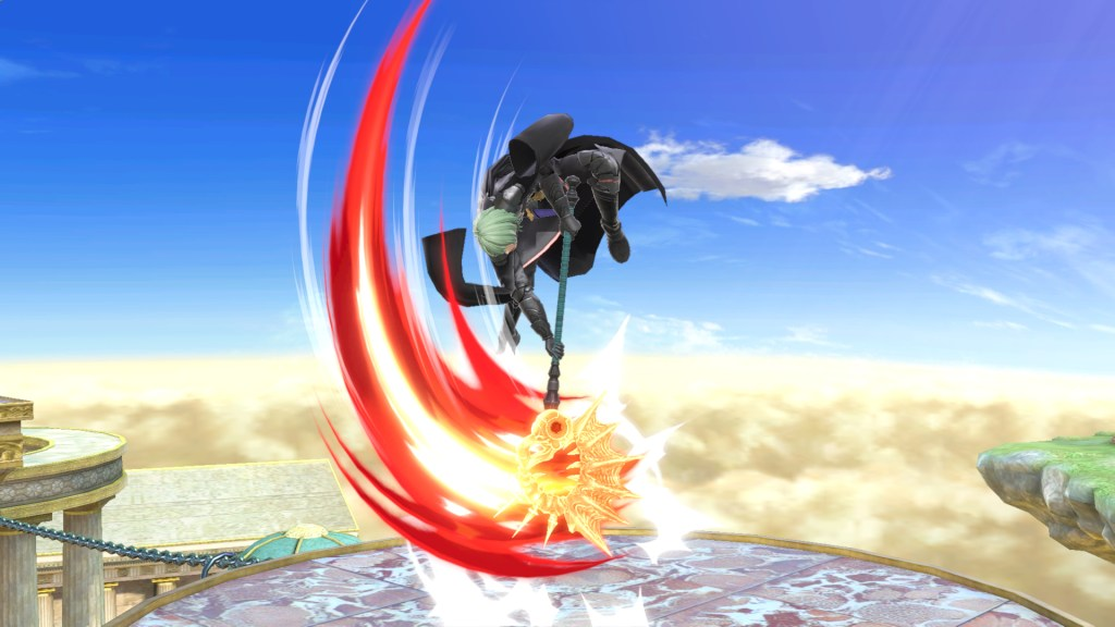 Super Smash Bros Byleth Down Axe 1
