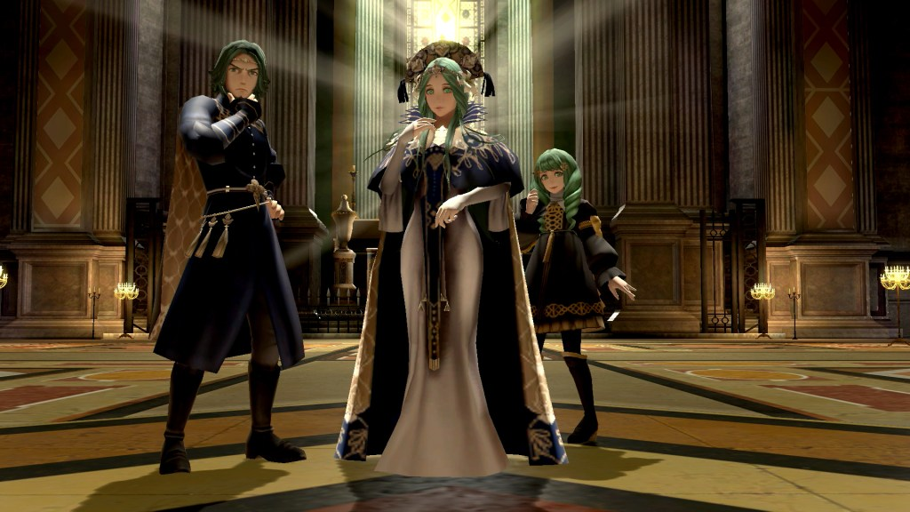 Super Smash Bros Stage Byleth 3