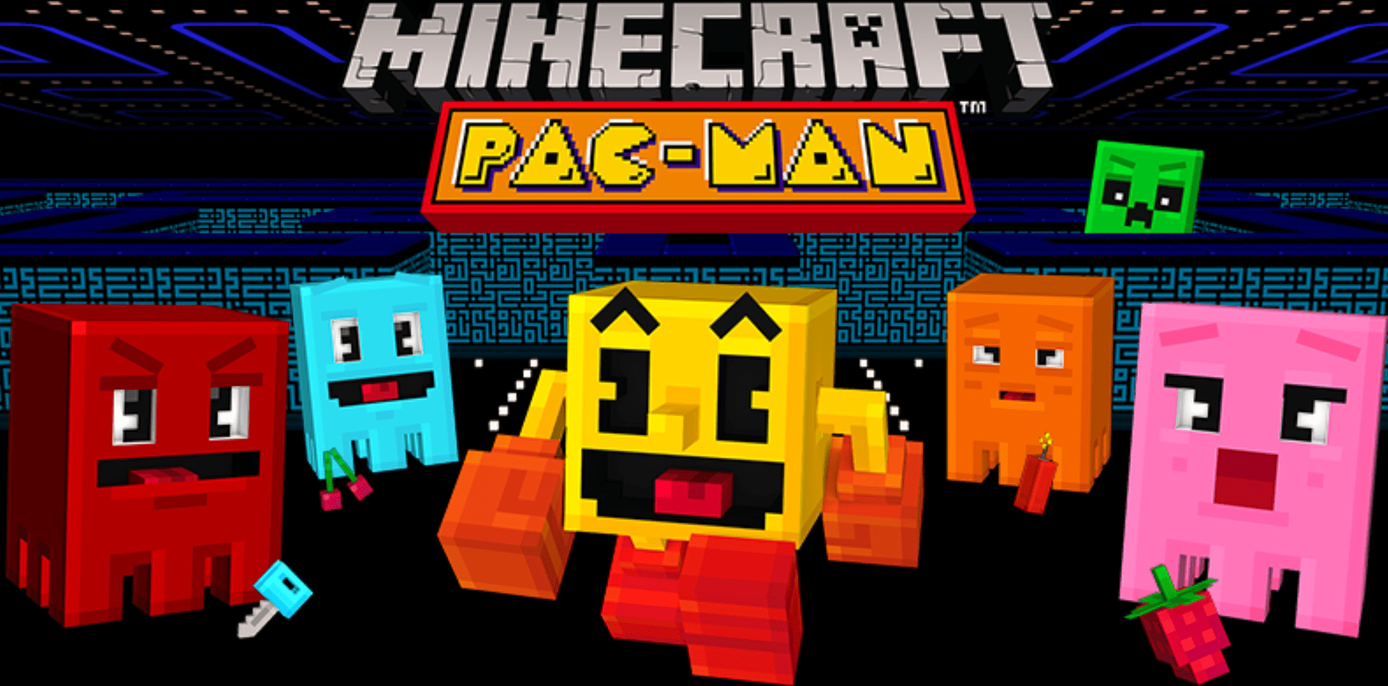 Minecraft Pac-Man DLC