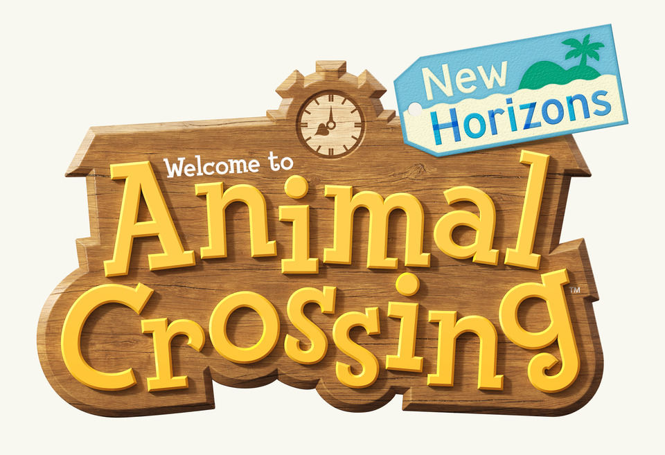 Animal Cross: New Horizons Logo
