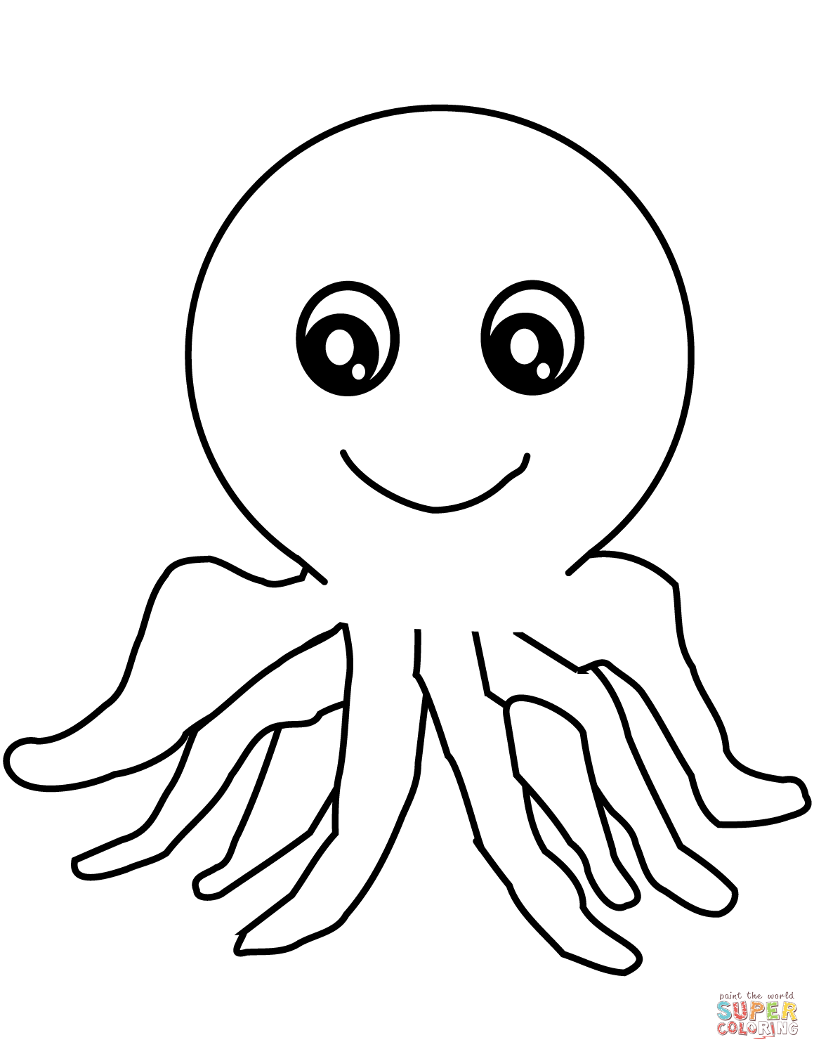 Octopus Coloring Pages Free Coloring Pages