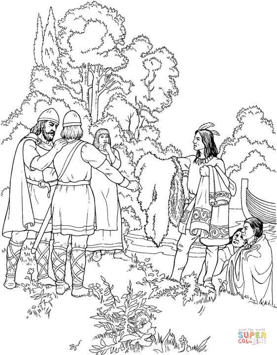 viking coloring pages # 22