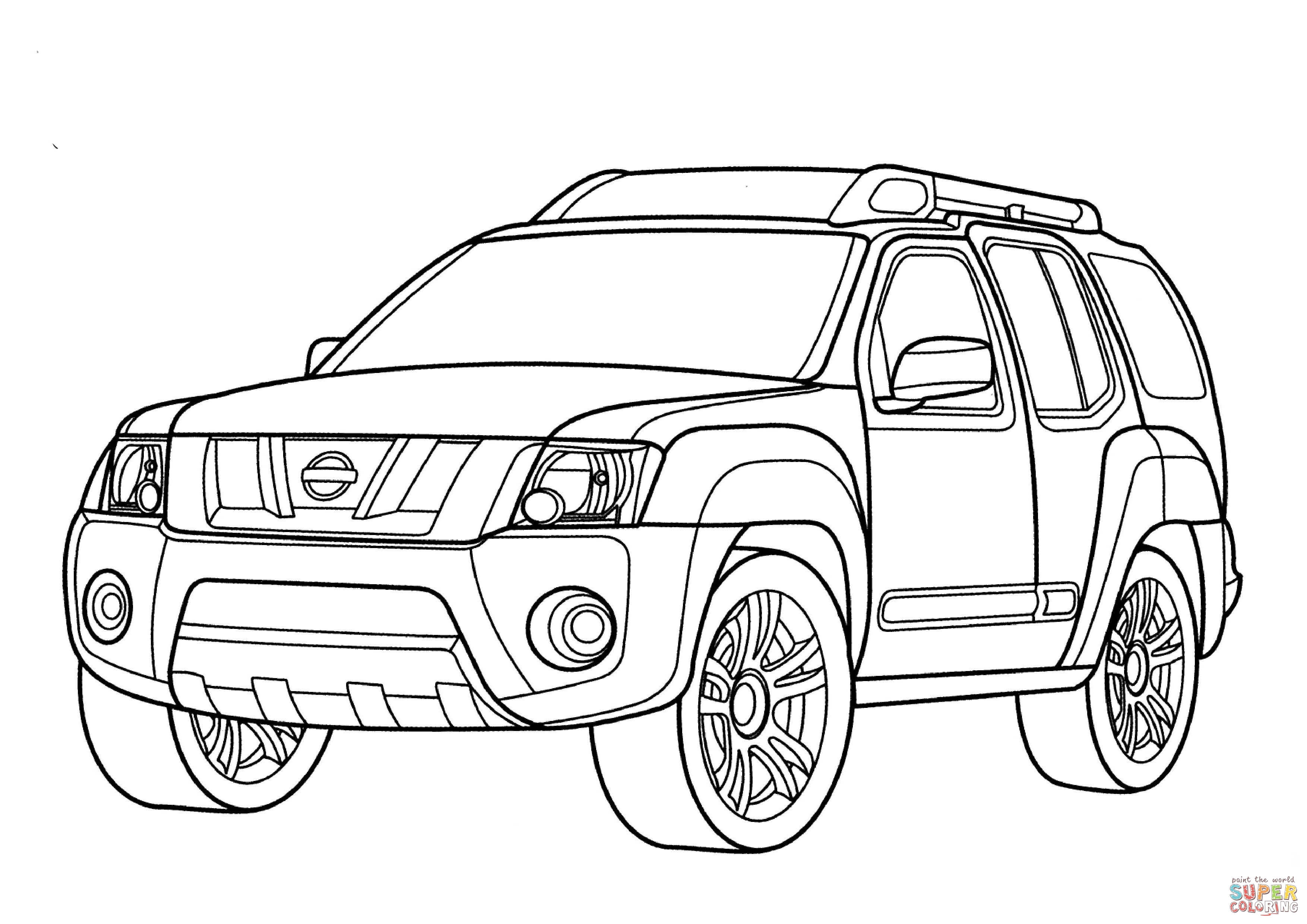 Nissan P17 Coloring Page