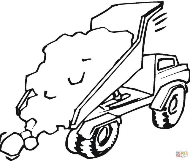 Construction Vehicles Coloring Pages Free Coloring Pages