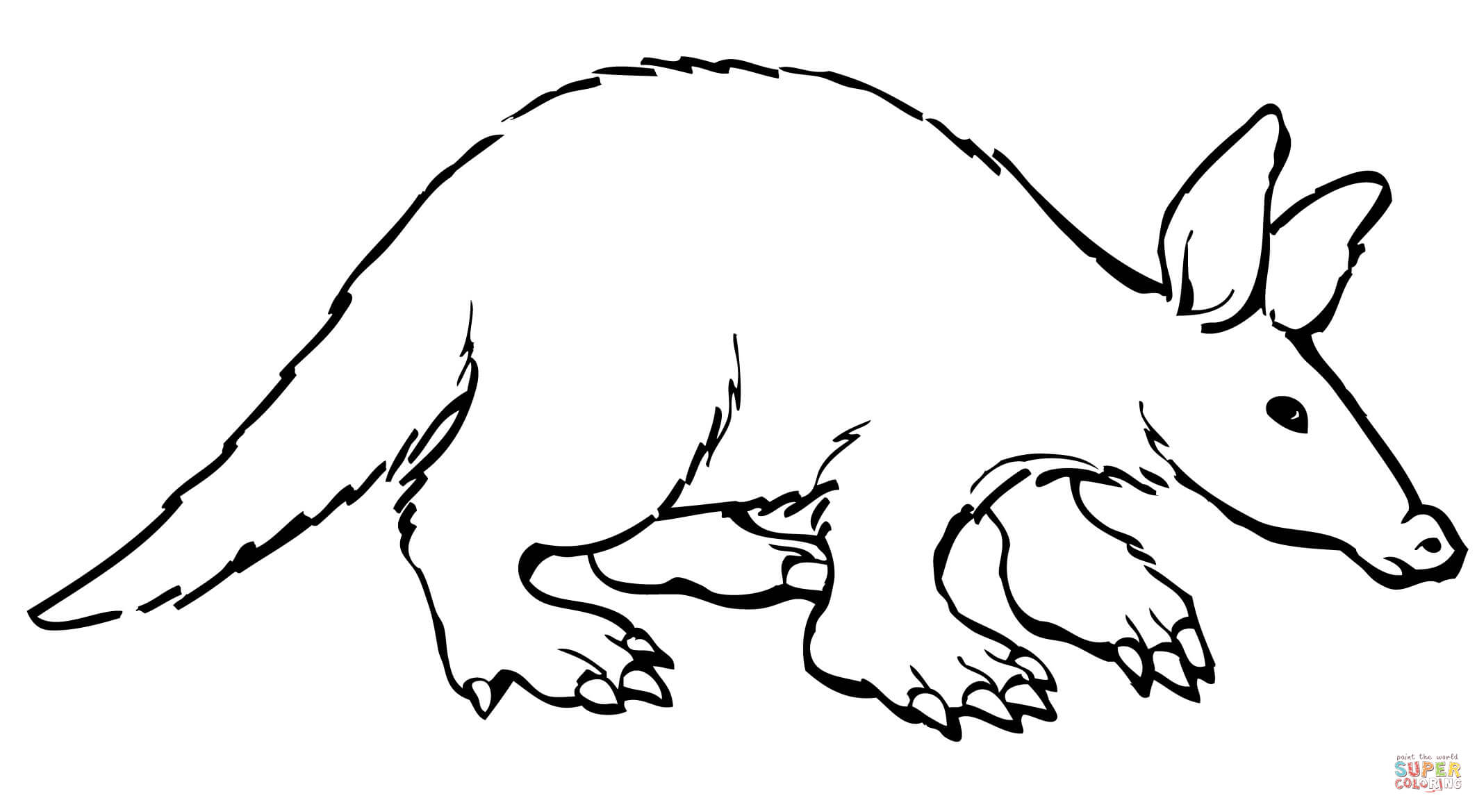 Ant Eater Worksheet