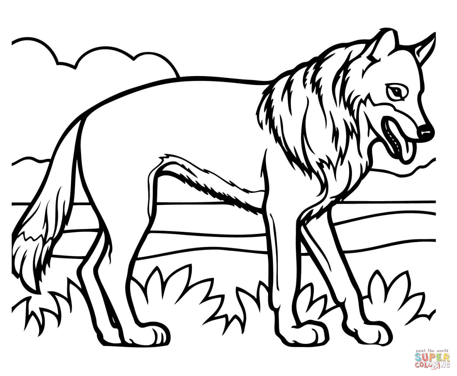 Coyote Coloring Pages. Awesome Coyote Coloring Page Skunk Fu Pages ...