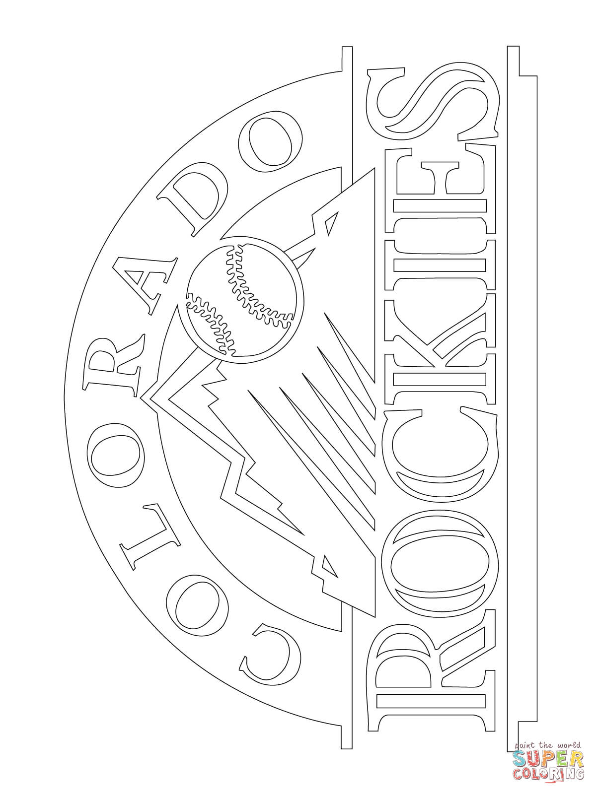 20 Of The Best Ideas For Colorado Coloring Pages