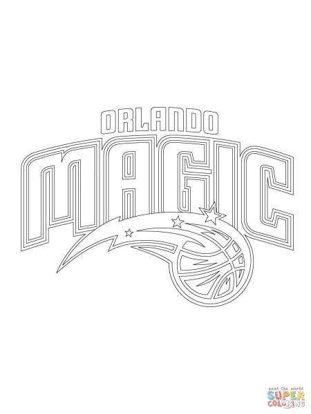 Orlando Magic Logo coloring page   Free Printable Coloring Pages Click the Orlando Magic Logo coloring pages to view printable