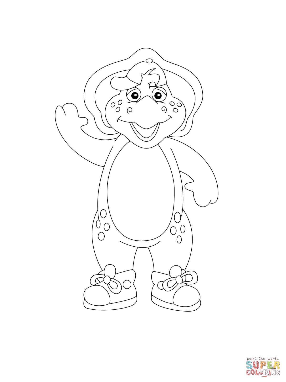 Bj Coloring Page Free Printable Coloring Pages