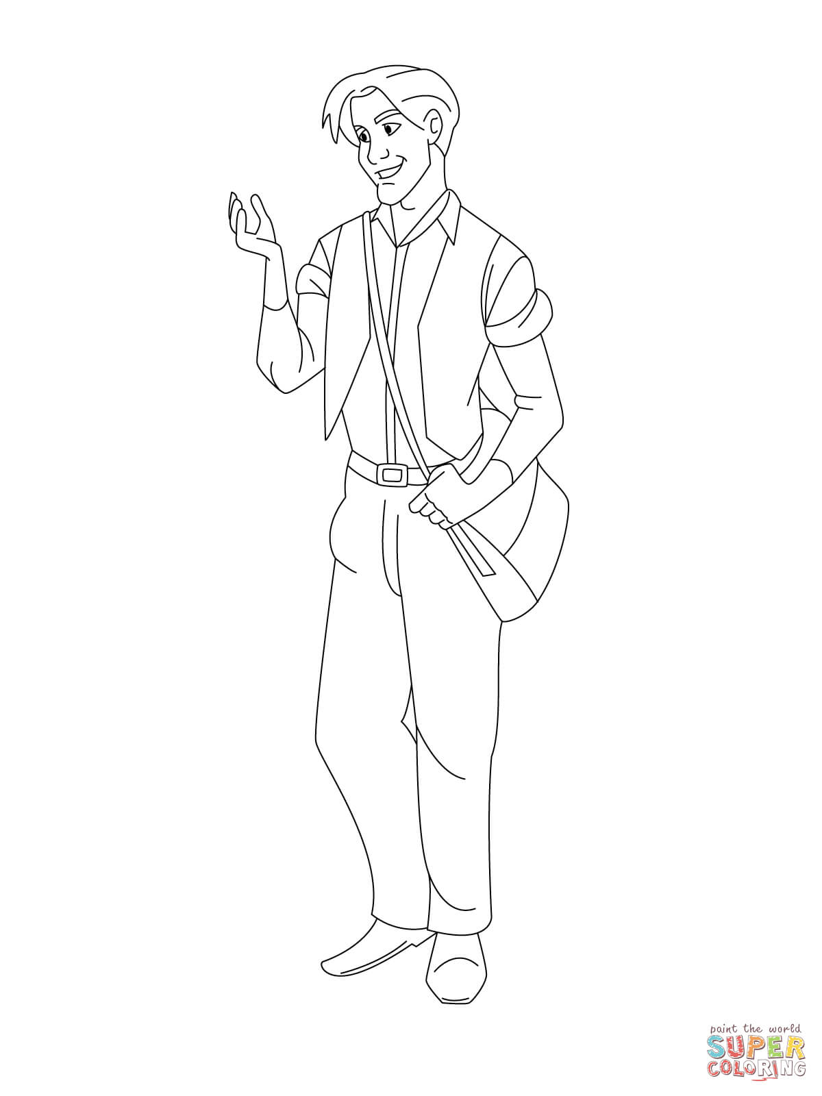 Dimitri Coloring Page Free Printable Coloring Pages