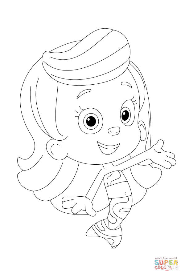 Molly Is Presenting Herself Coloring Page Free Printable