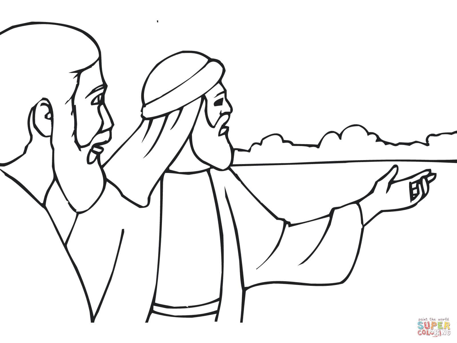 Ausmalbild Jesaja Der Prophet