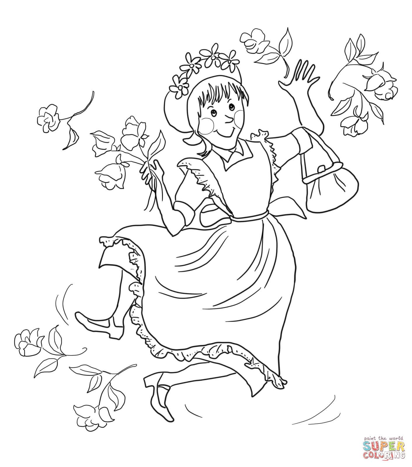 Amelia Bedelia Coloring Page