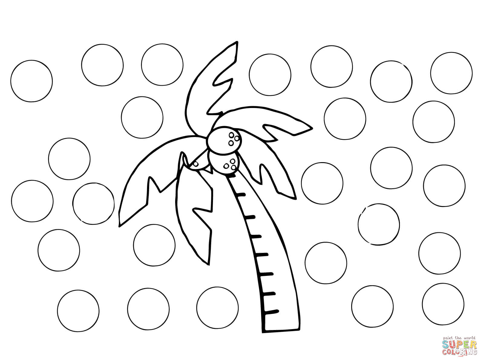 Chicka Chicka Boom Boom Blank Letters Coloring Page