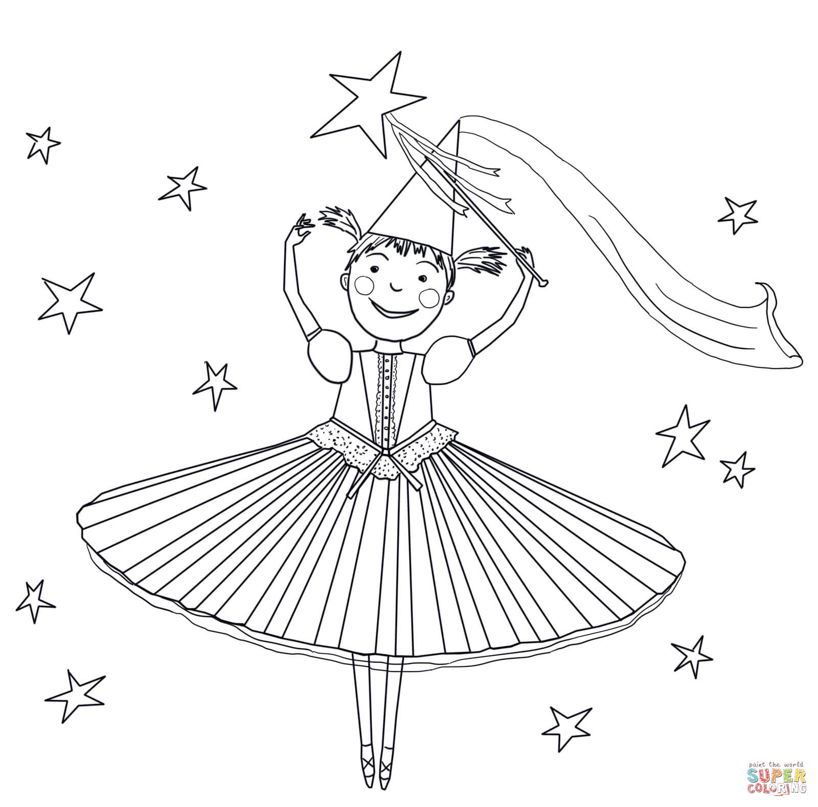 Pinkalicious Pink Is Perfect Coloring Page