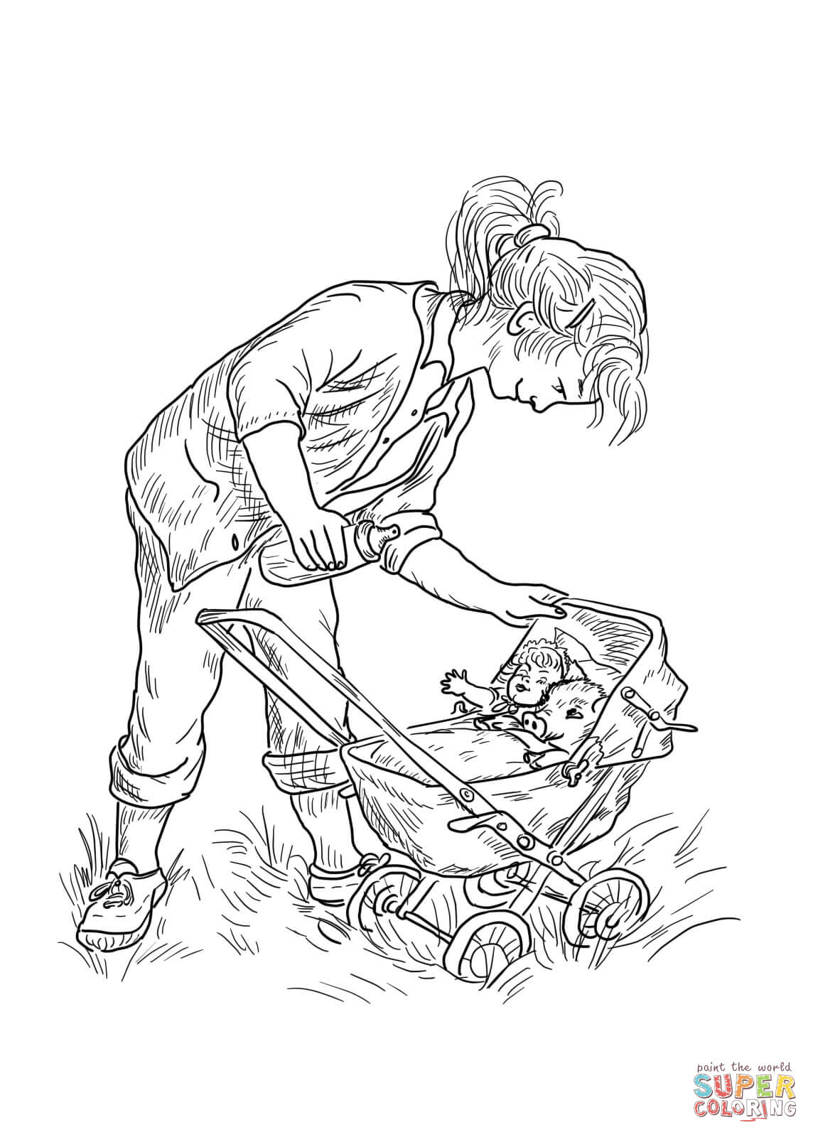 Fern S Babies Coloring Page