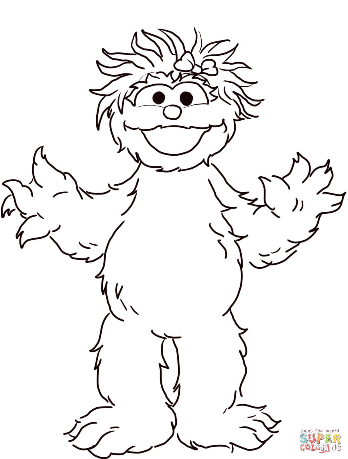 free coloring pages download sesame street rosita coloring page free printable coloring pages of sesame