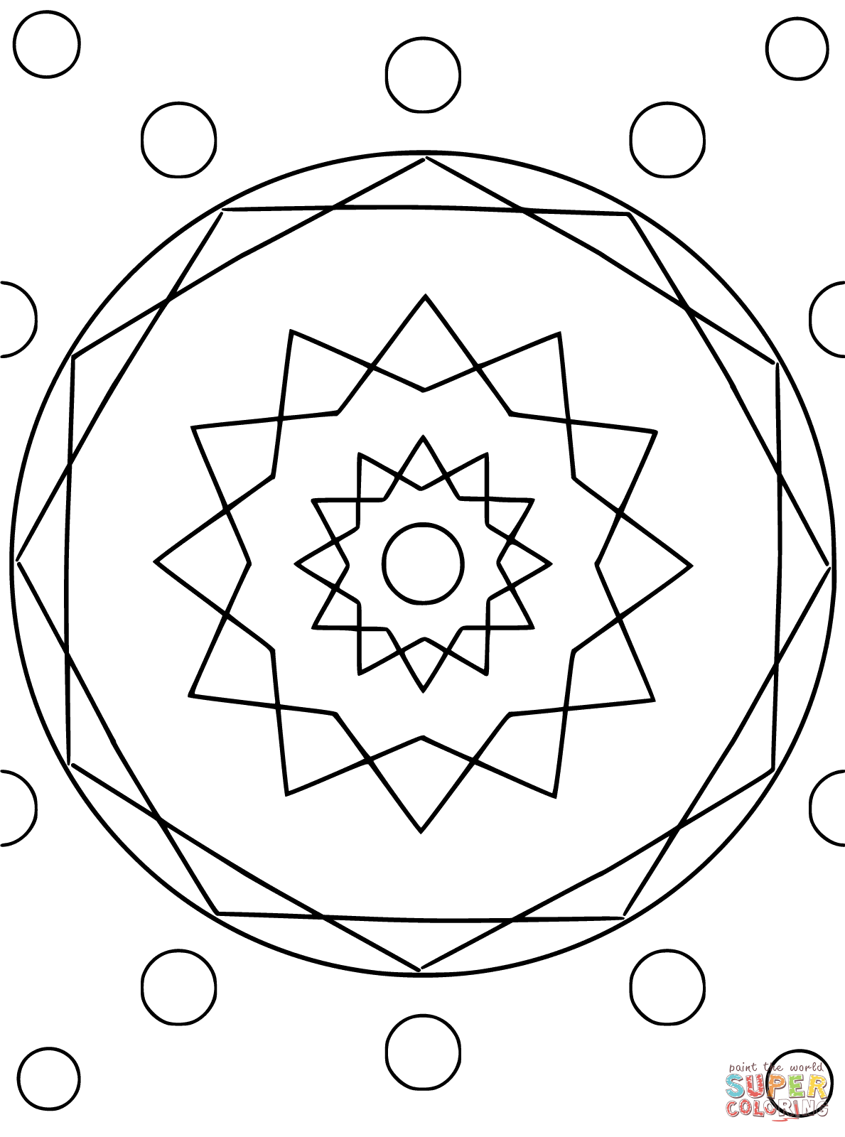 circle coloring page free coloring pages download xsibe triangle