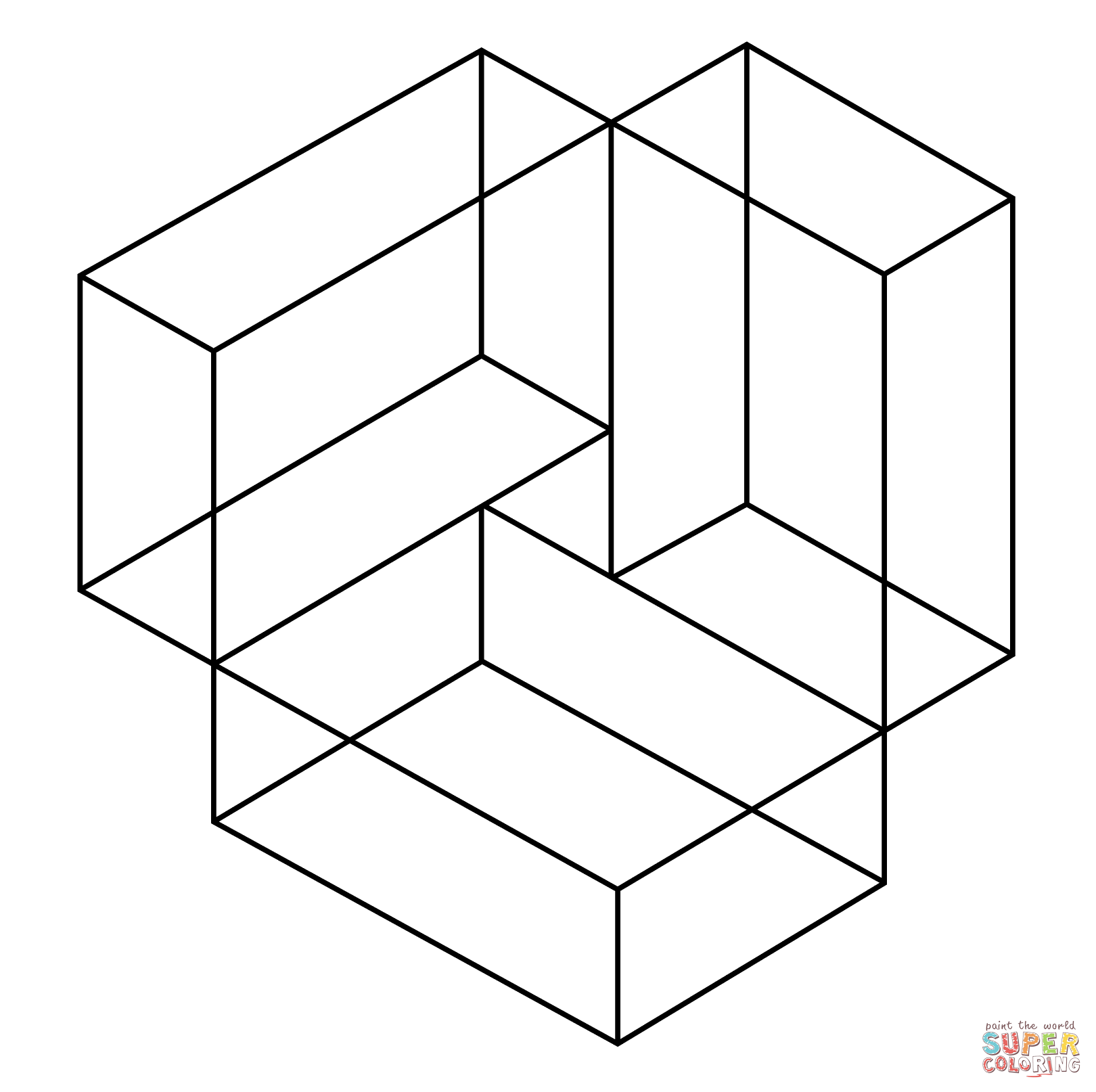 Optical Illusions Coloring Pages Free Coloring Pages
