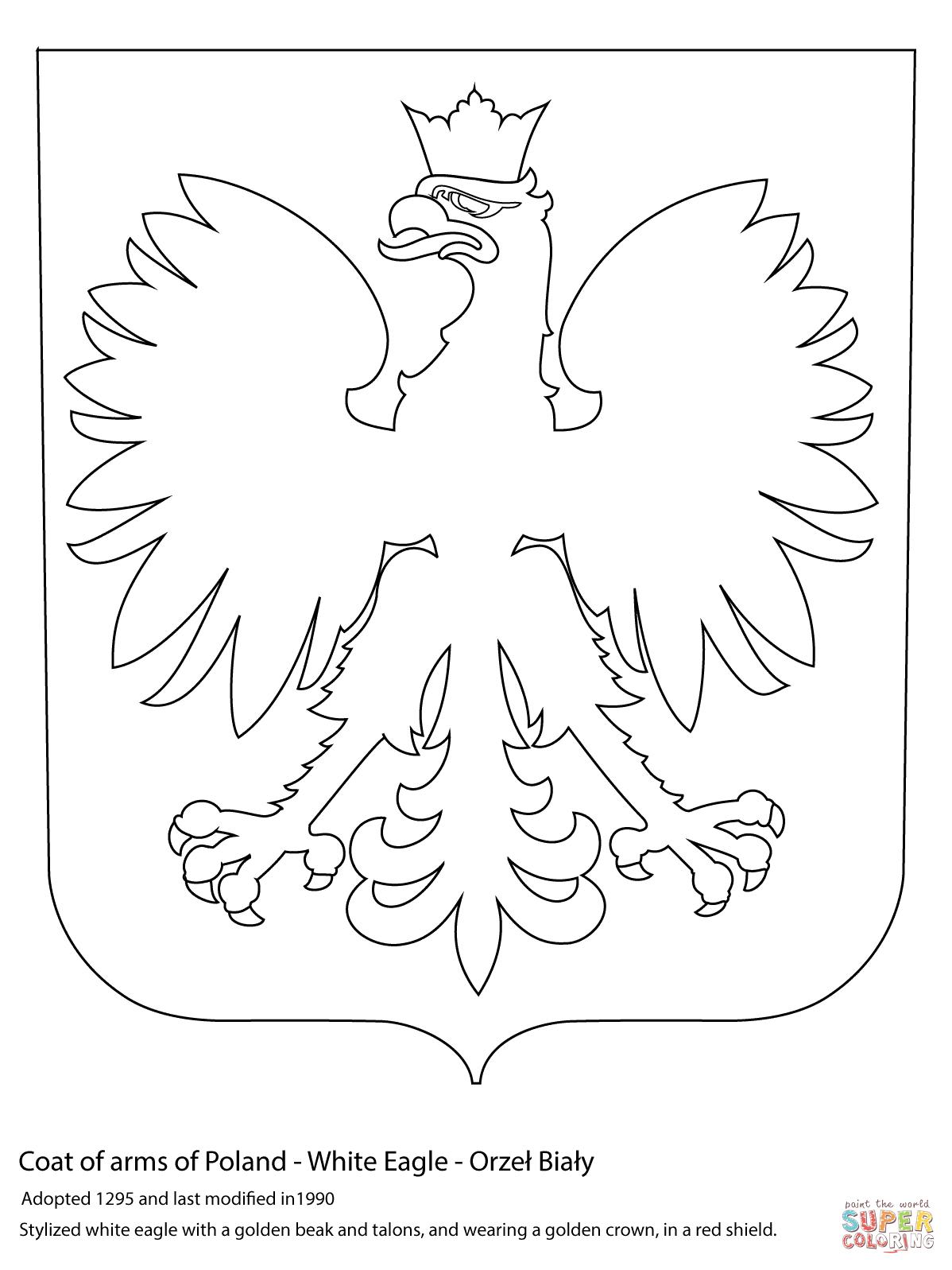 Kolorowanka God O Polski
