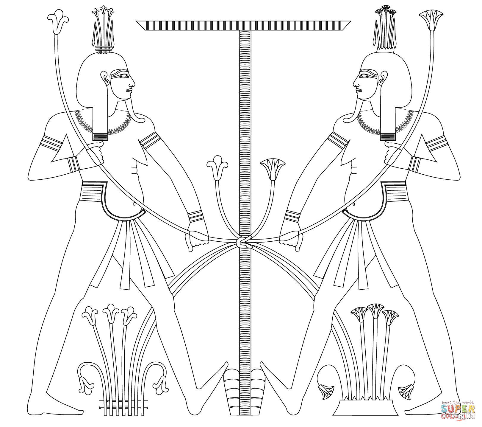 Hapy Coloring Page