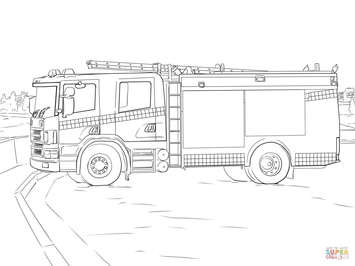 Fire Engine Photograph