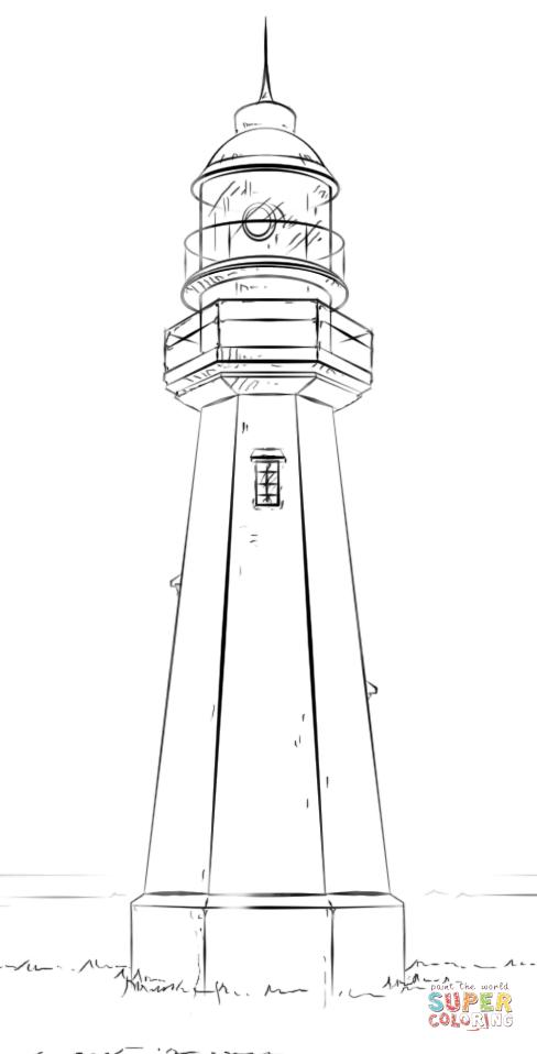 Ausmalbild Leuchtturm Ausmalbilder Kostenlos Zum Ausdrucken