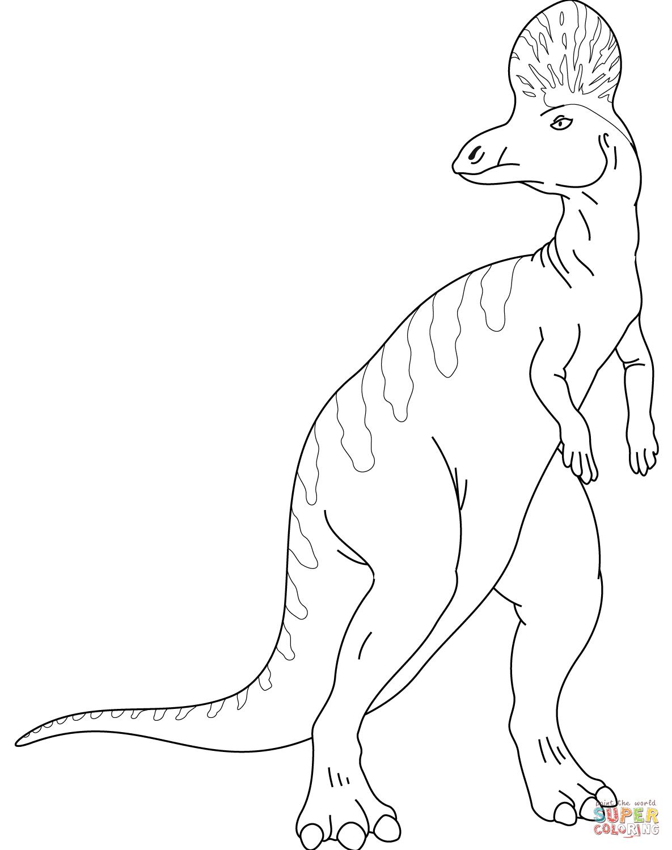 Corythosaurus Coloring Page