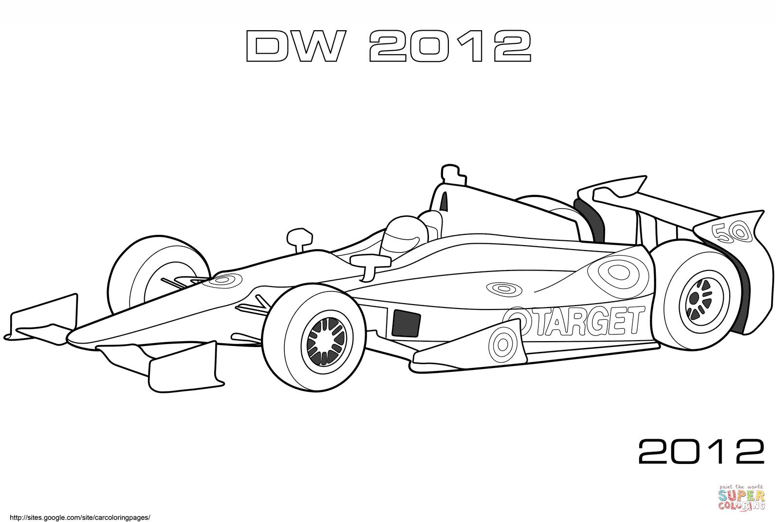 Dallara Dw12 Indybil M Larbok