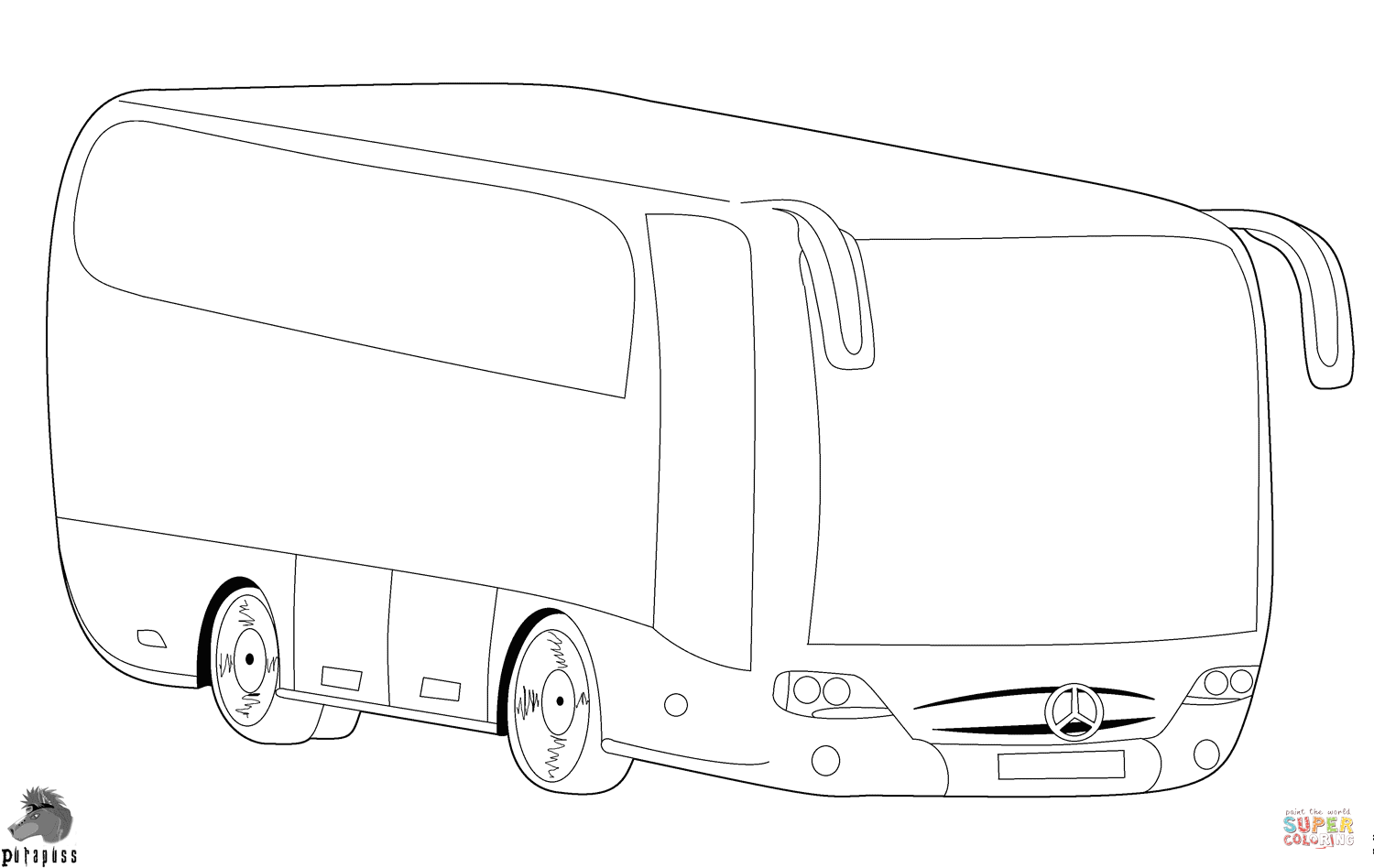 Vw Bus Hippie Coloring Pages Coloring Pages