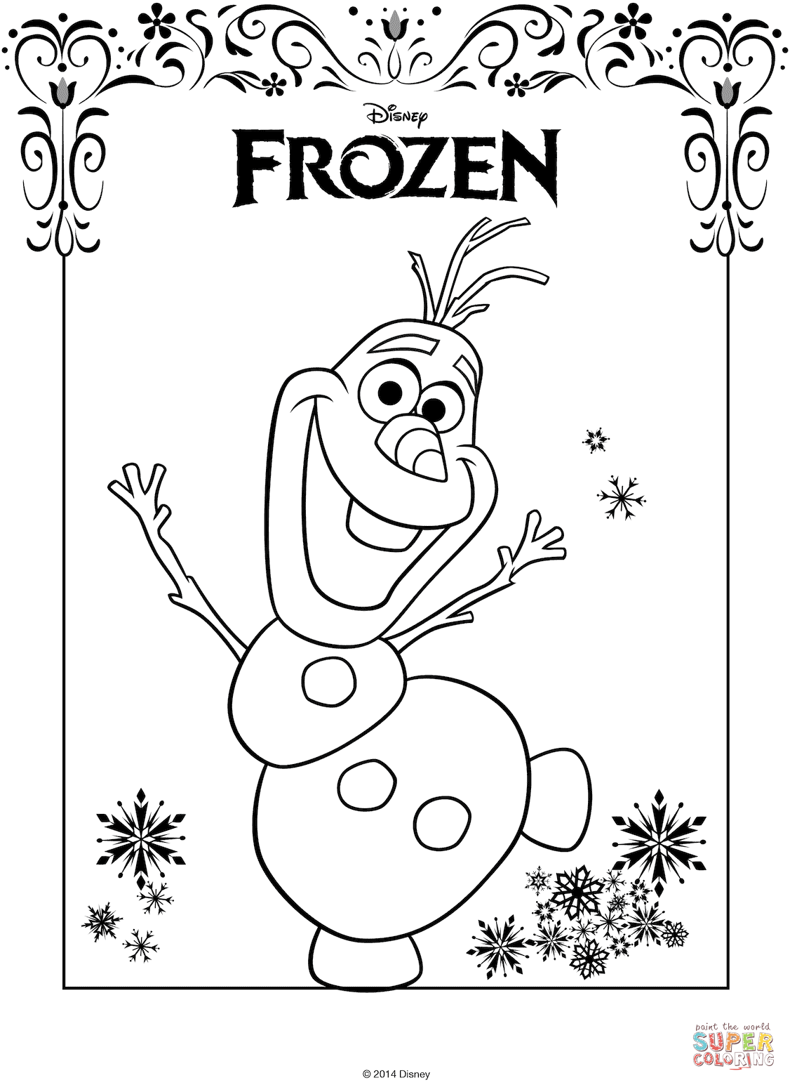Kristoff From Frozen Coloring Page Free Printable Coloring Pages