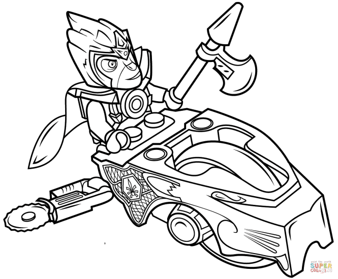 Click The Lego Chima Sdorz Coloring Pages