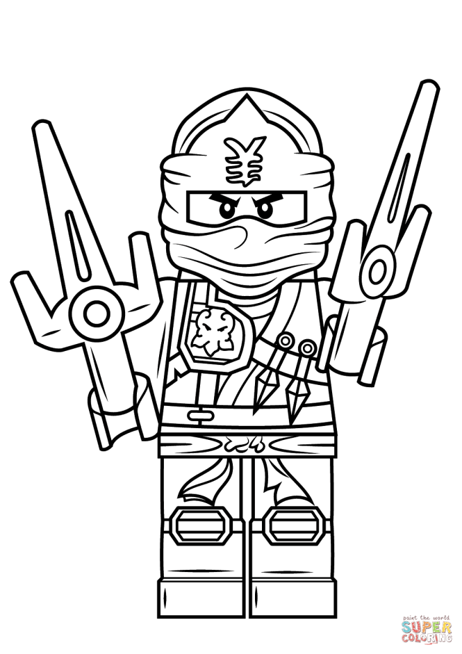 ninjago coloring pages jay | Coloring Page for kids