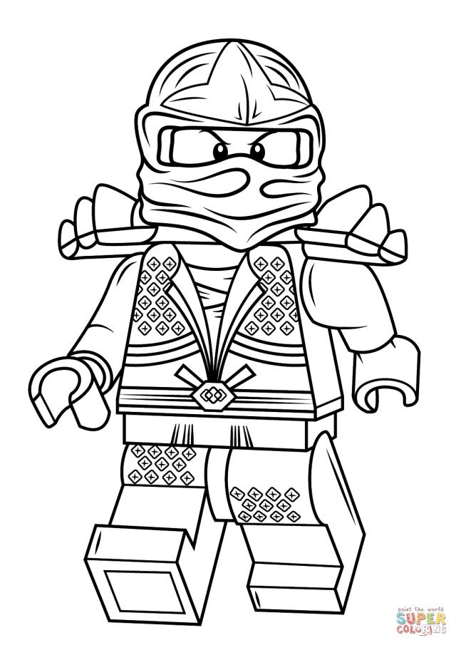 Lego Ninjago Lloyd Zx coloring page  Free Printable Coloring Pages