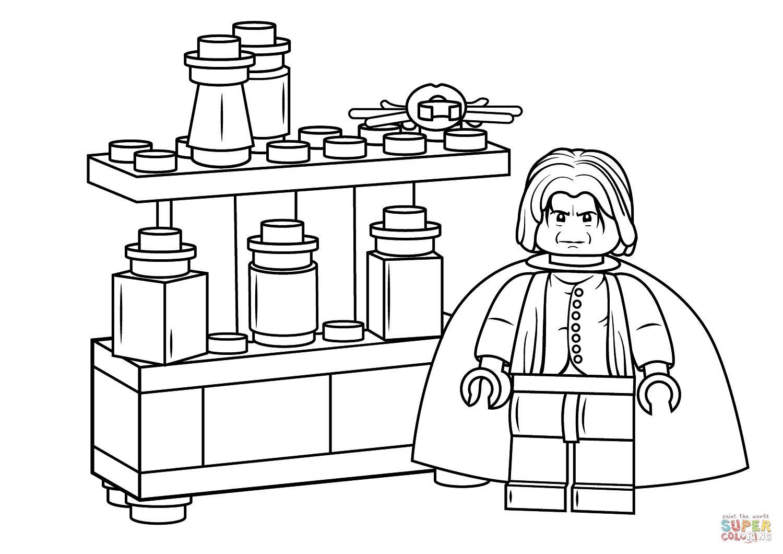 Disegni Da Colorare Harry Potter Lego Colorarest