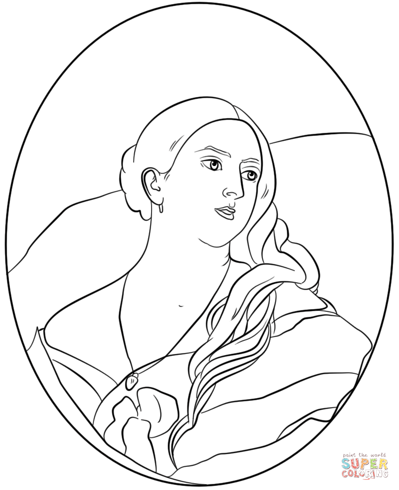 Queen Victoria Coloring Page Free Printable Coloring Pages