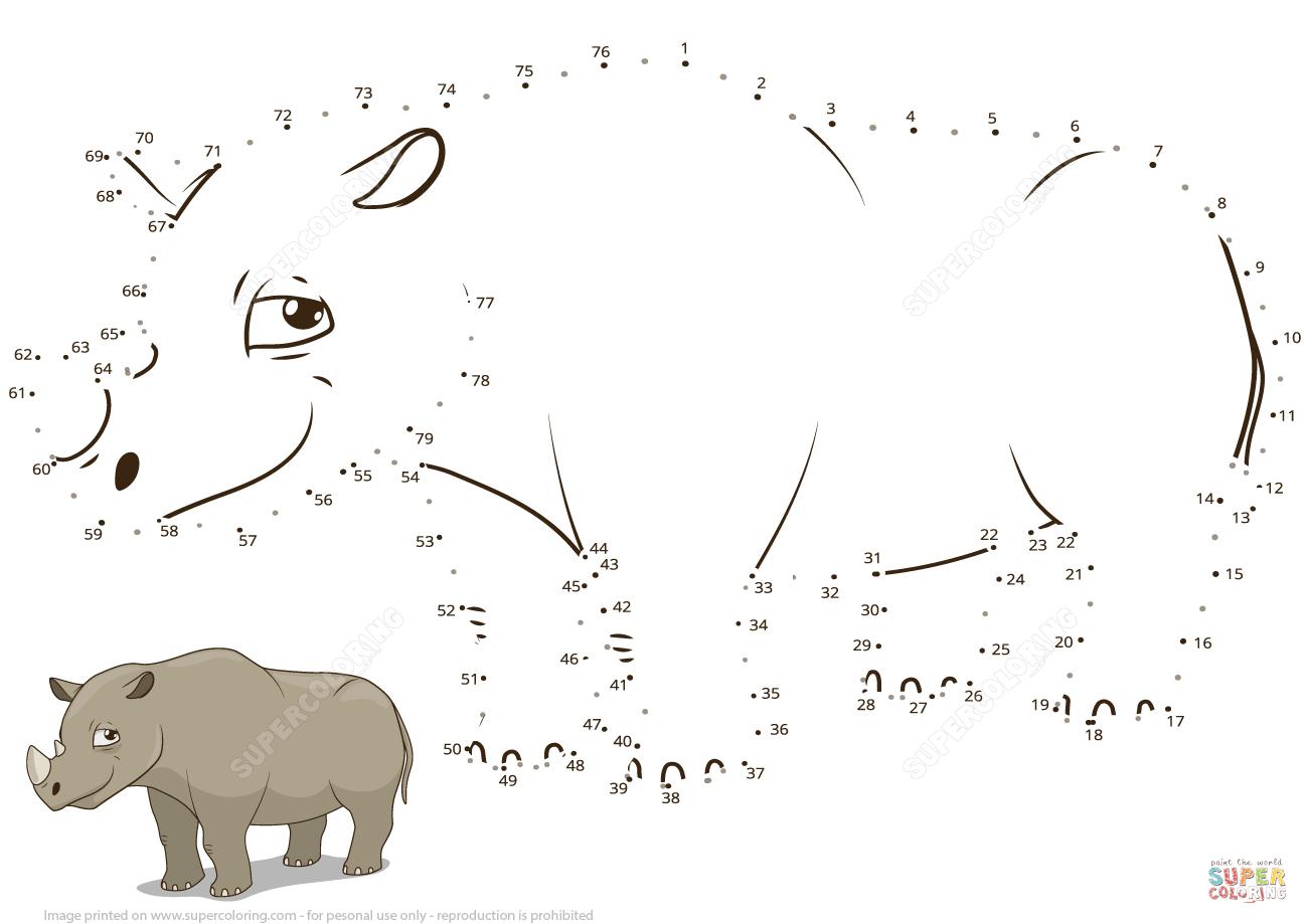 Rhino Dot To Dot