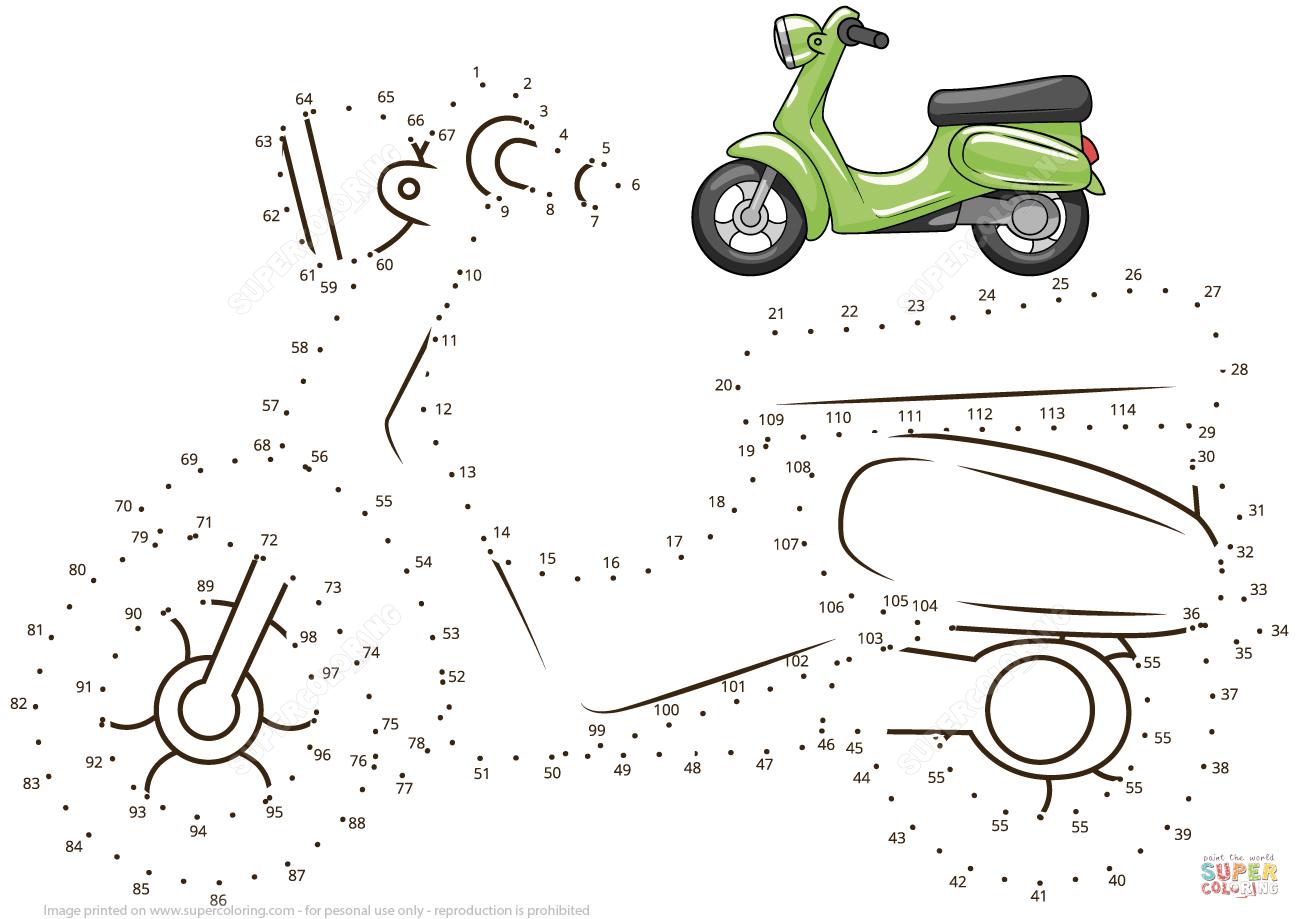 Scooter Prik Til Prik