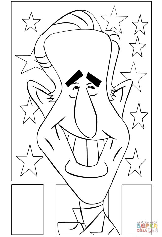 Joe Biden coloring page  Free Printable Coloring Pages