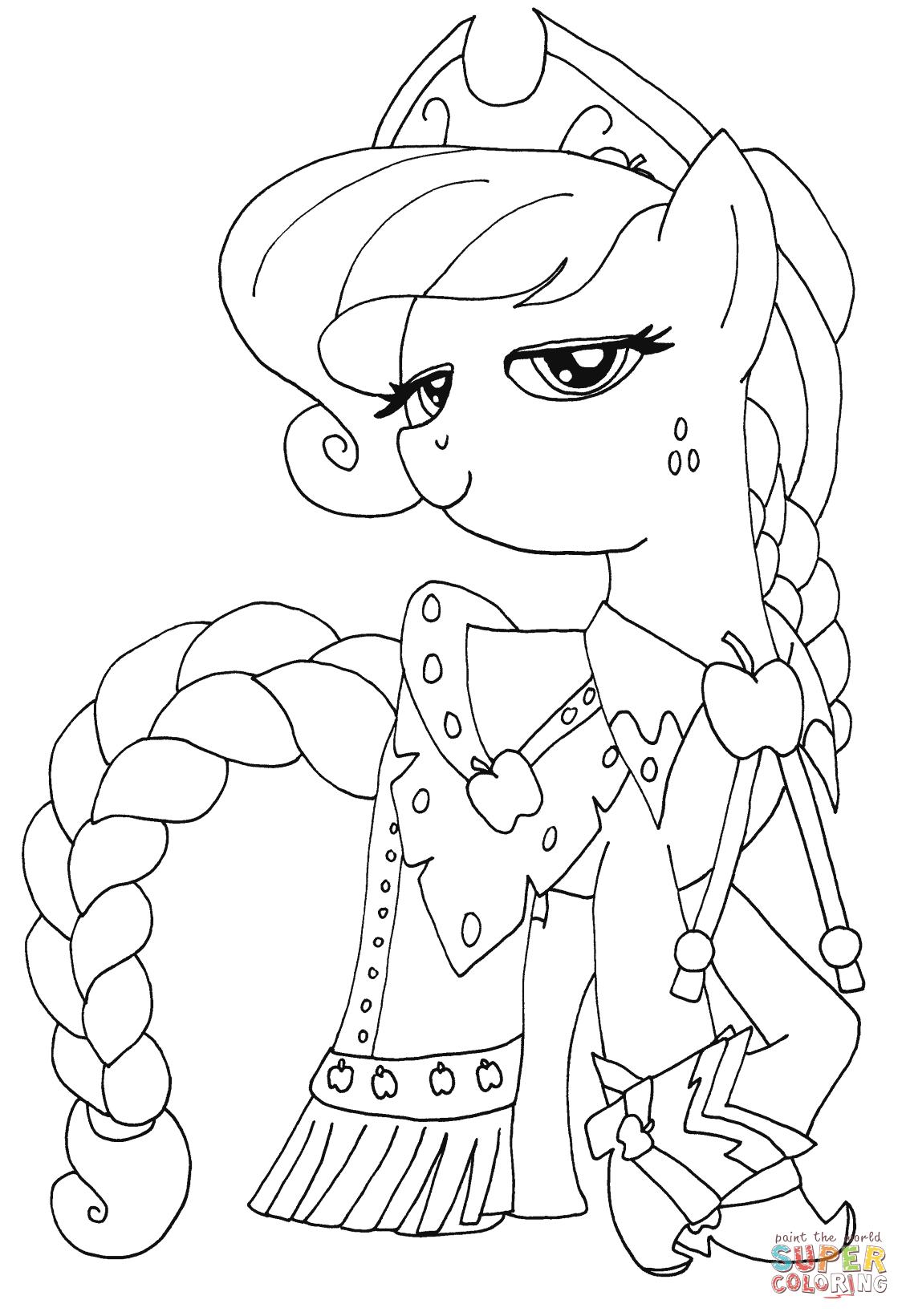 Prinsesse Applejack Tegninger