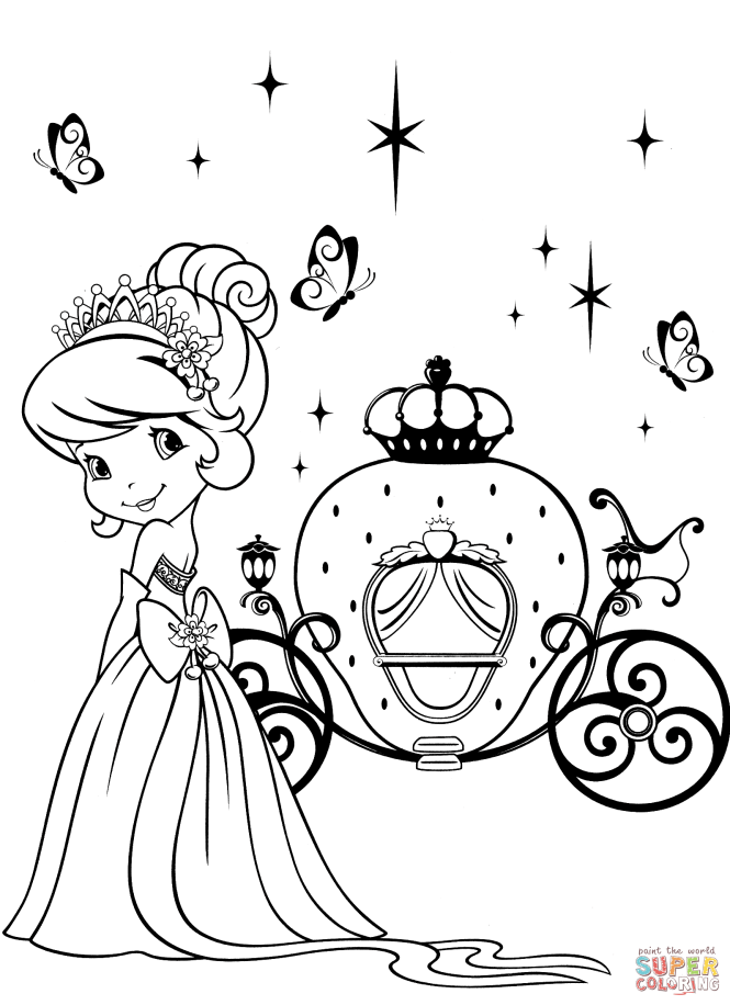 Strawberry Shortcake And Magical Carriage