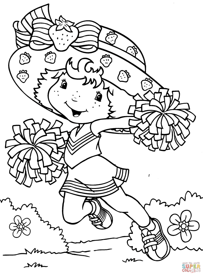 Strawberry Shortcake Cheerleader