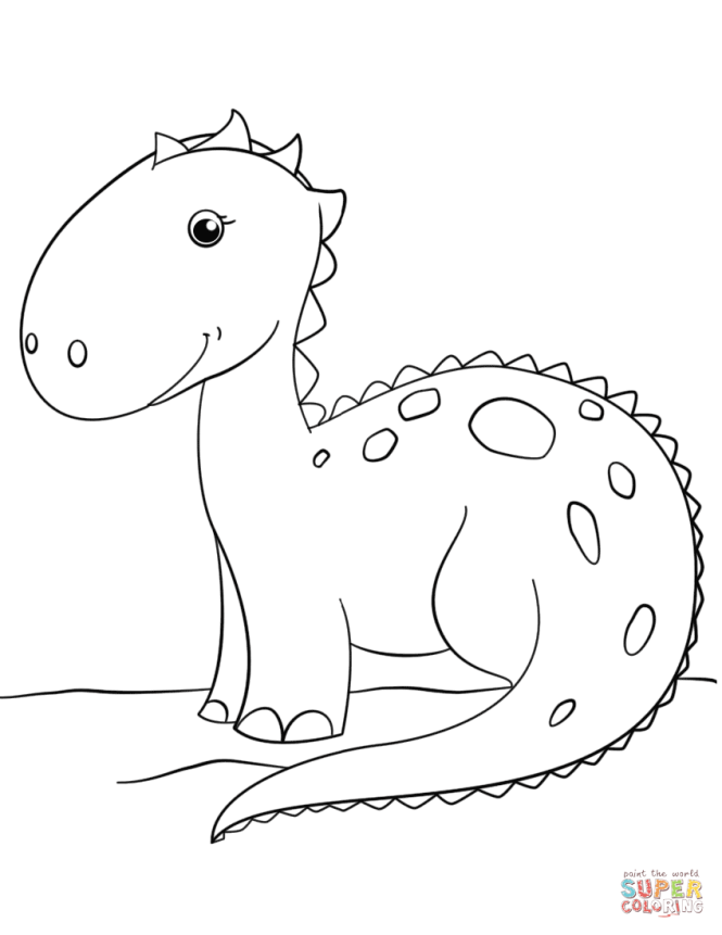dinosaur coloring books | Coloring Page for kids