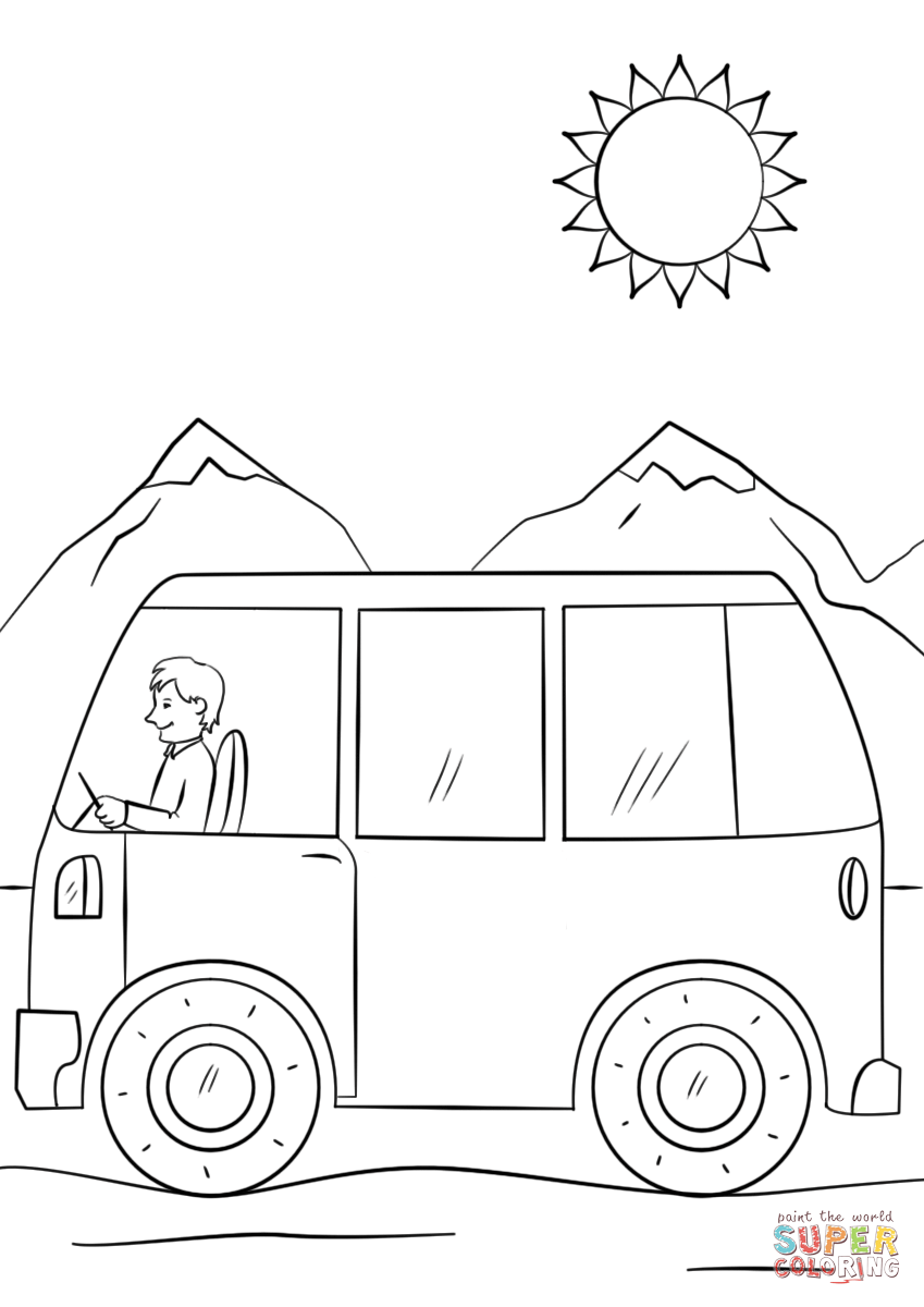Coloring Tayo Free Coloring For Kids Free Coloring Pages